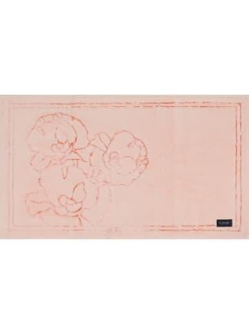 Elizabed Dywanik łazienkowy w kolorze jasnoróżowym