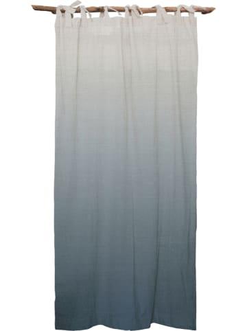 """Madre Selva Zasłona """"Blue Gradient"""" w kolorze niebieskim - 270 x 140 cm"""