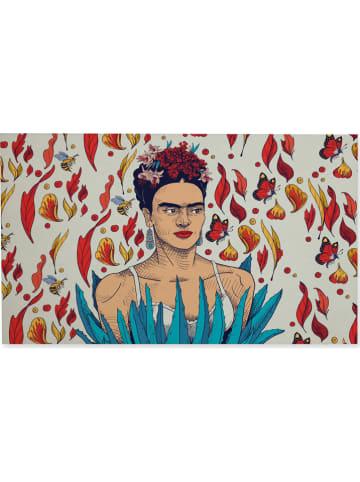 """Madre Selva Deurmat """"Frida Garden"""" meerkleurig - (L)70 x (B)40 cm"""