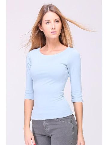 "Revd'Elle Koszulka ""Dorelle"" w kolorze błękitnym"