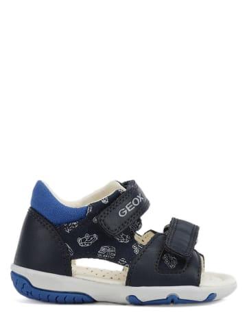 "Geox Sandalen ""Elba"" zwart/blauw"