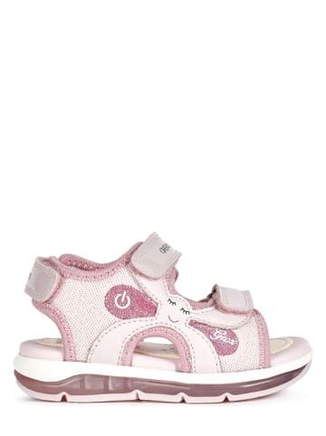 """Geox Sandały """"Todo"""" w kolorze jasnoróżowym"""