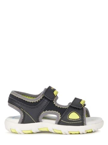 """Geox Sandały """"Pianeta"""" w kolorze antracytowym"""