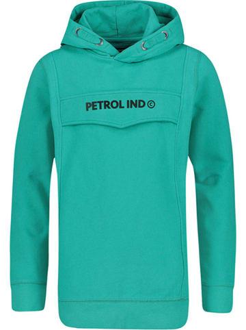 Petrol Industries Sweatshirt turquoise