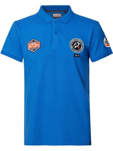 Petrol Industries Poloshirt blauw
