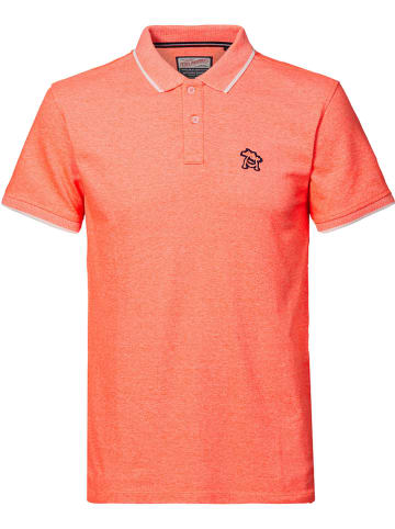 Petrol Industries Koszulka polo w kolorze koralowym
