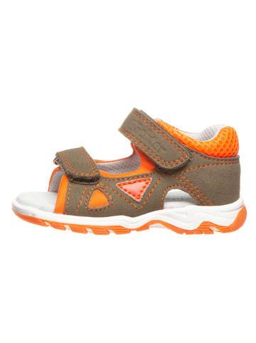 Richter Shoes Sandalen kaki/oranje