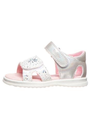 Richter Shoes Sandalen wit/zilverkleurig