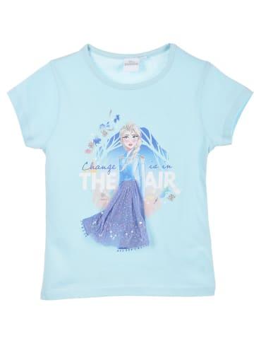 """Disney Frozen Koszulka """"Frozen"""" w kolorze turkusowym"""