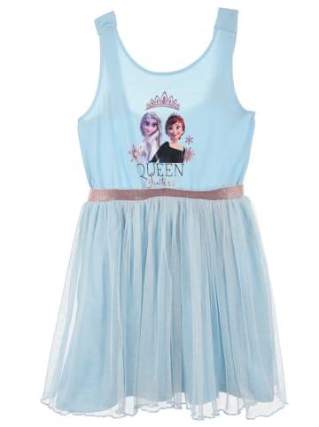 """Disney Frozen Sukienka """"Frozen"""" w kolorze błękitnym"""