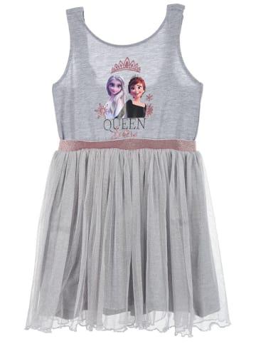 "Disney Frozen Sukienka ""Frozen"" w kolorze szarym"