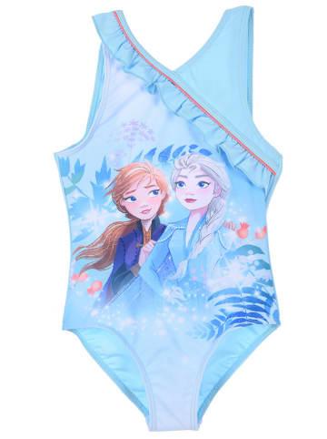 """Disney Frozen Strój kąpielowy """"Frozen"""" w kolorze błękitnym"""