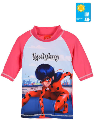 """Miraculous Koszulka kąpielowa """"Ladybug"""" w kolorze różowym"""