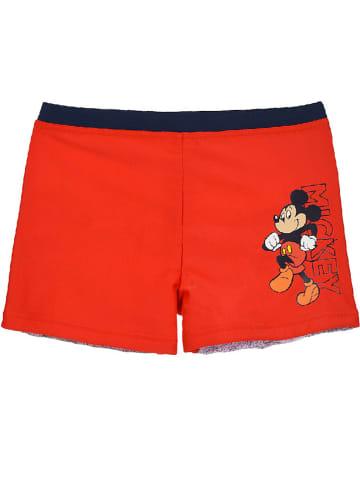 """Disney Mickey Mouse Kąpielówki """"Mickey Mouse"""" w kolorze czerwonym"""