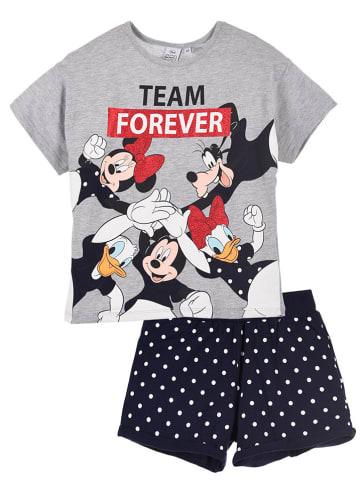 """Disney Minnie Mouse 2-częściowy zestaw """"Minnie Mouse"""" w kolorze szaro-granatowym"""