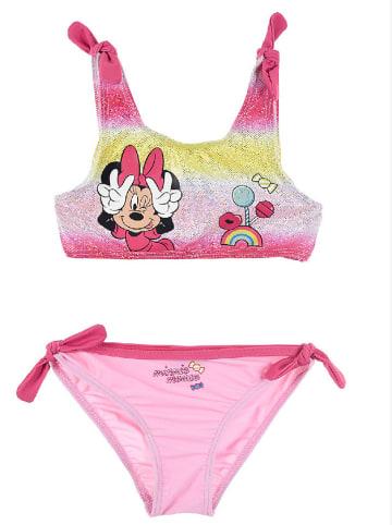 """Disney Minnie Mouse Bikini """"Minnie Mouse""""w kolorze jasnoróżowym"""