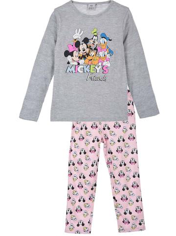 """Disney Minnie Mouse Piżama """"Minnie Mouse"""" w kolorze szarym"""
