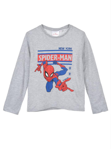 "Spiderman Koszulka ""Spider-Man"" w kolorze szarym"