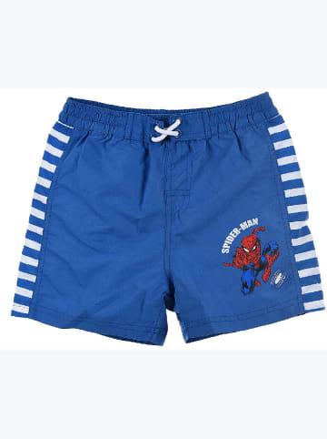 """Spiderman Szorty kąpielowe """"Spider-Man"""" w kolorze niebieskim"""