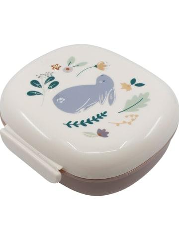 """Sebra Pudełko """"Daydream"""" w kolorze biało-jasnobrązowym - 17,5 x 7,2 x 16,5 cm"""