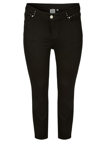 Rock Your Curves by Angelina K. Jeans - Slim fit - in Schwarz