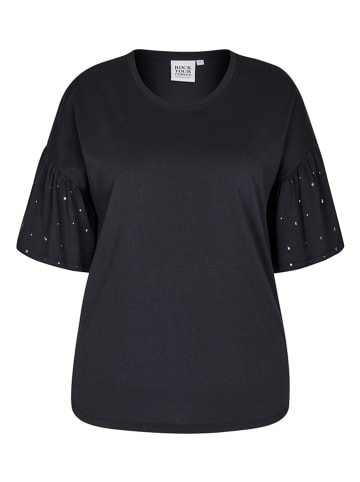 Rock Your Curves by Angelina K. Shirt in Schwarz