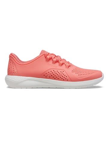 """Crocs Sneakersy """"Lite Ride"""" w kolorze pomarańczowym"""
