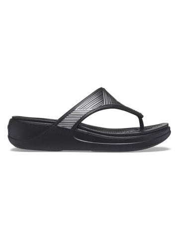 """Crocs Teenslippers """"Monterey"""" zwart"""