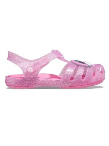 """Crocs Sandały """"Isabella"""" w kolorze jasnoróżowym"""