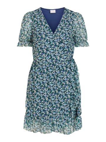 "Vila Sukienka ""Vivolette"" w kolorze zielono-niebieskim"