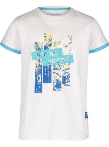 """4PRESIDENT Koszulka """"Kadin"""" w kolorze białym"""