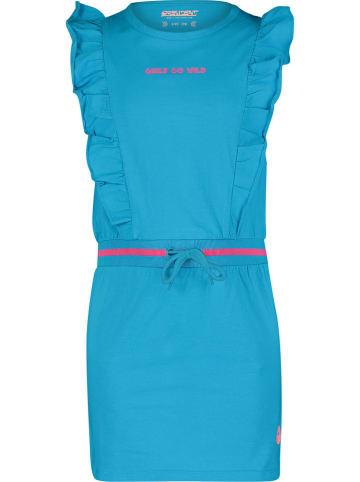 """4PRESIDENT Sukienka """"Crystal"""" w kolorze turkusowym"""