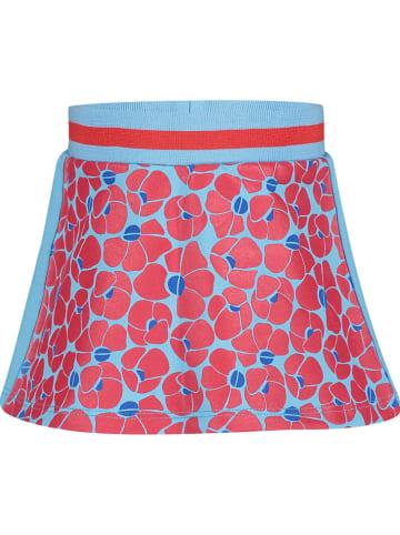 """4PRESIDENT Spódnica """"Nuala"""" w kolorze czerwono-turkusowym"""