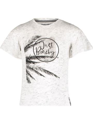 """4PRESIDENT Koszulka """"Kara"""" w kolorze jasnoszarym"""