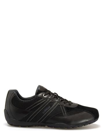 """Geox Sneakers """"Ravex"""" zwart"""