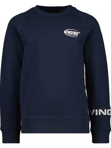 """Vingino Sweatshirt """"Nirto"""" donkerblauw"""