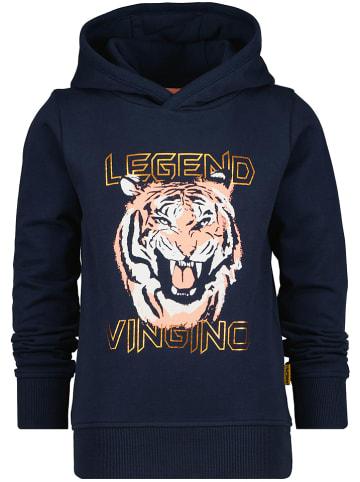 """Vingino Sweatshirt """"Nogan"""" donkerblauw"""