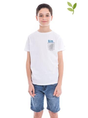 RITCHIE Koszulka w kolorze białym