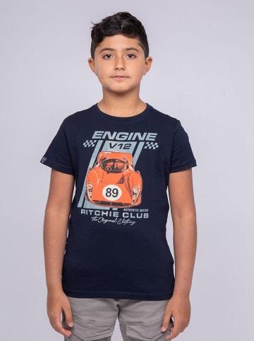 RITCHIE Koszulka w kolorze granatowym