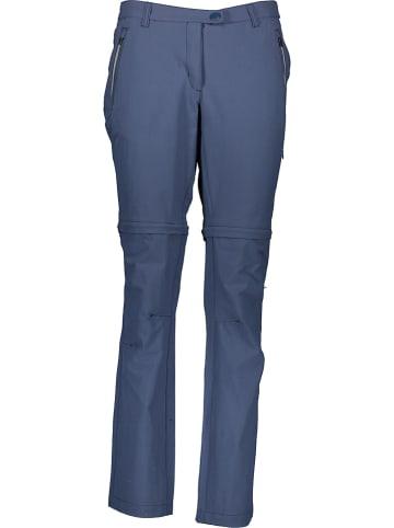 Regatta Funkcyjne spodnie Zippoff  w kolorze granatowym