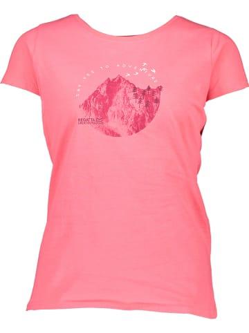 """Regatta Koszulka """"Breezed"""" w kolorze jasnoróżowym"""