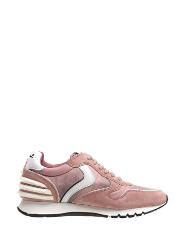 Voile Blanche Leder-Sneakers in Rosa