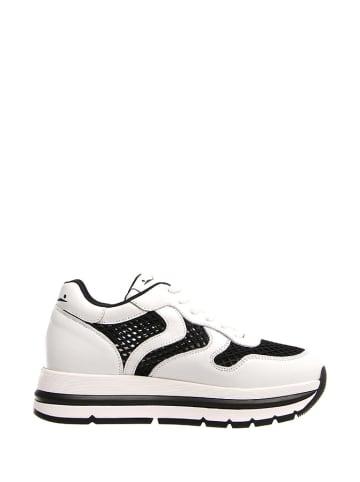 Voile Blanche Sneakersy w kolorze czarno-białym