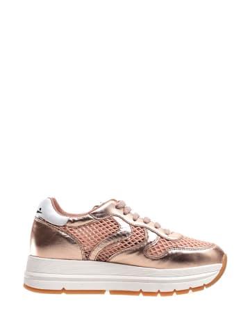 Voile Blanche Sneakersy w kolorze różowego złota