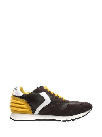 Voile Blanche Sneakersy w kolorze szaro-biało-żółtym