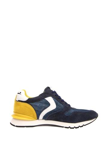 Voile Blanche Sneakersy w kolorze granatowo-biało-żołtym