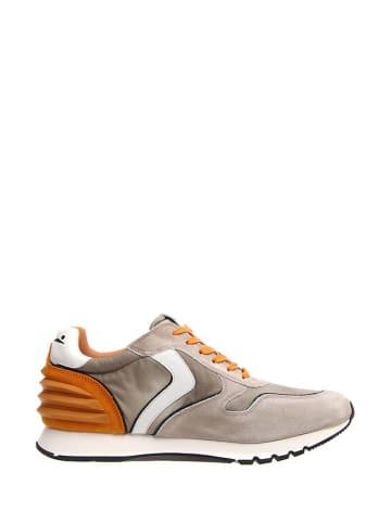 Voile Blanche Sneakers in Weiß/ Grau/ Orange