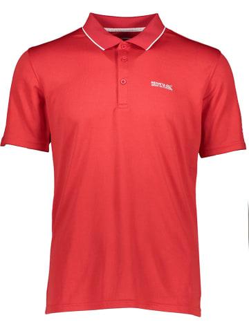 Regatta Funkcyjna koszulka polo w kolorze czerwonym