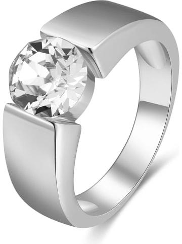 METROPOLITAN Ring met Swarovski-kristallen
