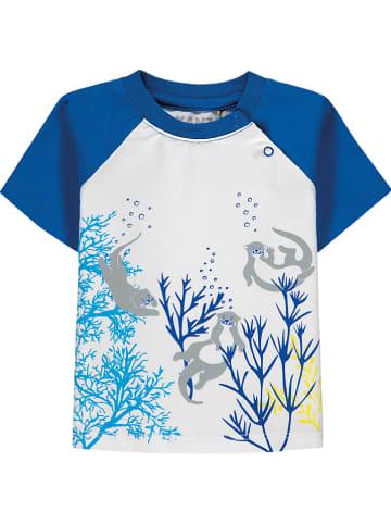 Kanz Shirt wit/blauw